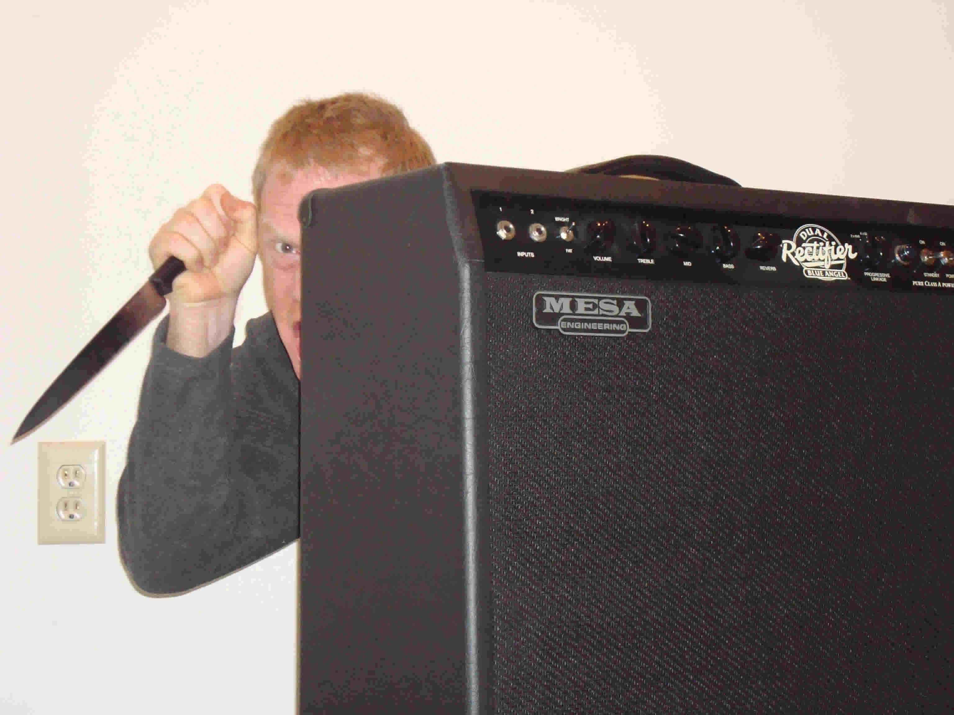 The Amplifier Prank